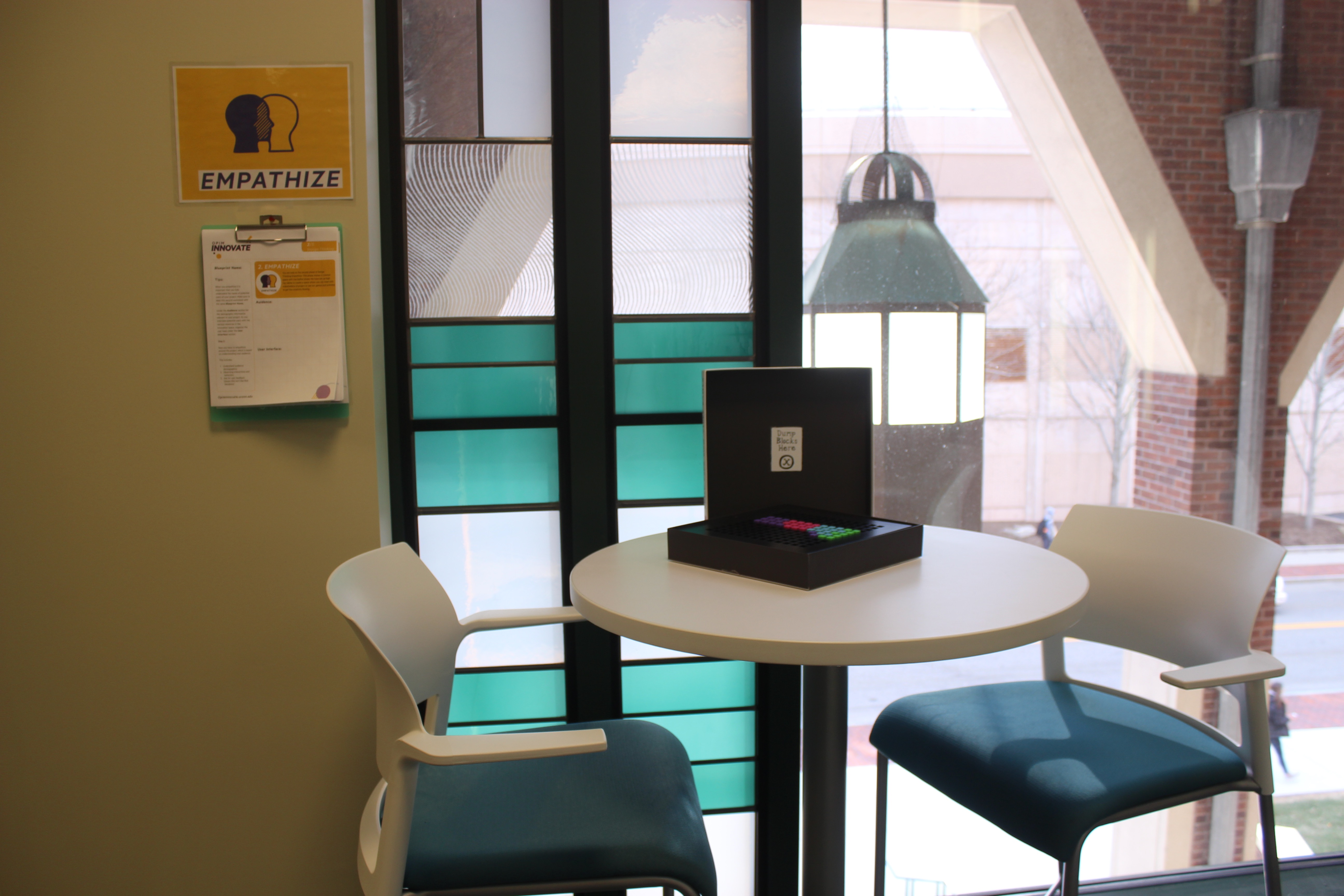 Innovation Space: Empathize Space